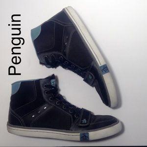 Original Penguin High Top Sneakers size 10.5